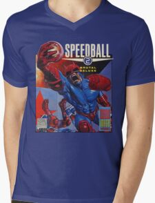 Speedball 2 T-Shirt Mens V-Neck T-Shirt