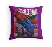Speedball 2 T-Shirt Throw Pillow