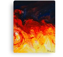 abstract clouds 11 Canvas Print