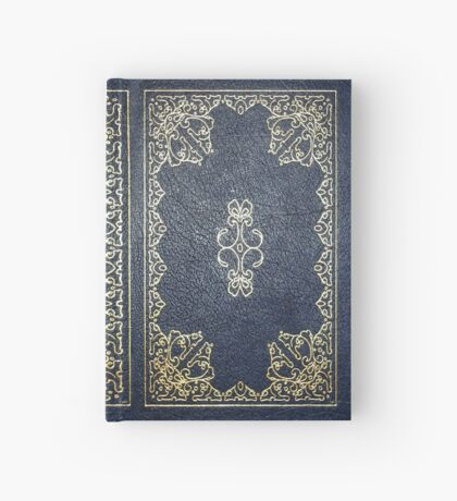 Gilded Gold and Blue Book Hardcover Journal