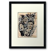 Evil Dead Caffeine Shock Framed Print