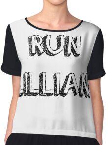RUN LILLIAN! - FONT ONE Chiffon Top