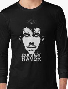 Davey Havok - face tee Long Sleeve T-Shirt