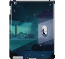 waiting on the balcony iPad Case/Skin