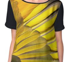 St Vincent Parrot wing Chiffon Top