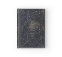 Spider Silk Stars Book Hardcover Journal