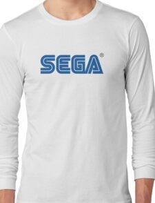 Sega classic arcade and console games Long Sleeve T-Shirt