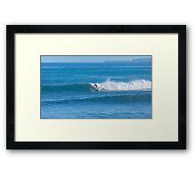 Sandy Beach Perfection Framed Print