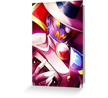 Count Bleck Greeting Card