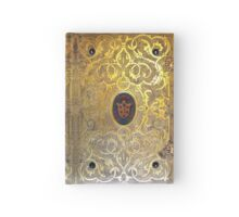 Golden Swirls Book Hardcover Journal