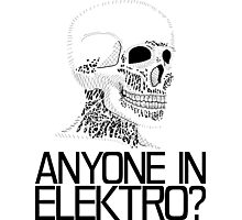 Anyone in Elektro? (2) Photographic Print