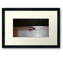 Yoga - Chakrasana Framed Print
