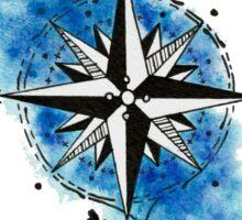 Sea Compass Sticker