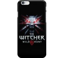 the witcher black wild hunt 2016 iPhone Case/Skin