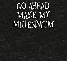 Go ahead, make my Millennium Tri-blend T-Shirt