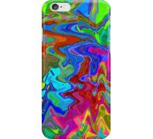 Rainbow seamless pattern iPhone Case/Skin