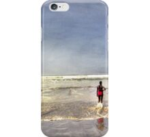 Pink at the Beach iPhone Case/Skin