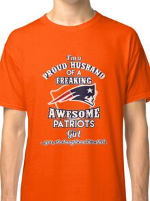Awesome patriots Girls Classic T-Shirt