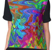 Rainbow seamless pattern Chiffon Top