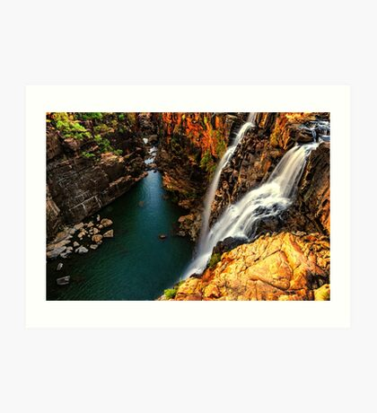 Little Mertens Falls Art Print