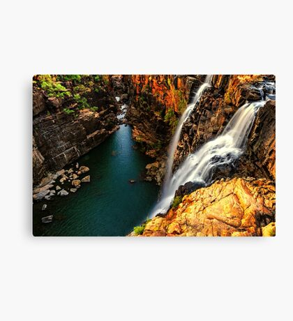 Little Mertens Falls Canvas Print