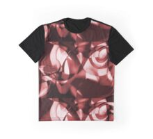 M7 X Red Abstract Design Graphic T-Shirt