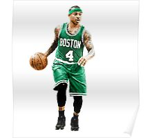 Isaiah Thomas Boston Celtics # 4 Poster