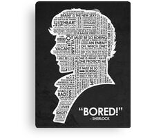 Bored! Canvas Print