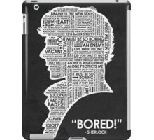 Bored! iPad Case/Skin