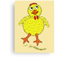 The Chicken Dance T-shirt and leggings, etc Canvas Print