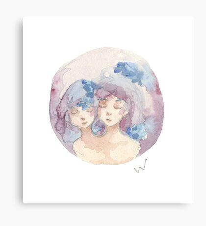 Twins Canvas Print