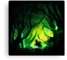 Into The Lost Woods Canvas Print
