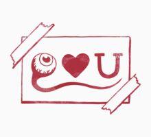 Eye Love You One Piece - Long Sleeve