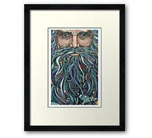 Old man Ocean Framed Print