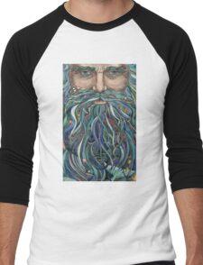 Old man Ocean Men's Baseball ¾ T-Shirt