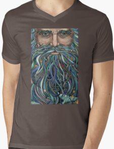 Old man Ocean Mens V-Neck T-Shirt