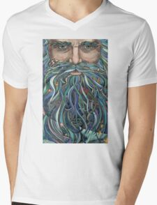 Old man Ocean Mens V-Neck T-Shirt