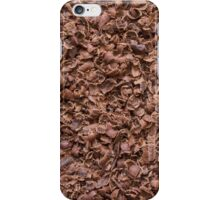 Chocolate chips texture iPhone Case/Skin