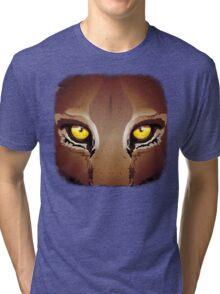 Mountain Lion's Eyes Tri-blend T-Shirt
