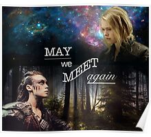 May We Meet Again - Clexa Poster