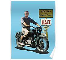 STEVE MCQUEEN GREAT ESCAPE HALT Poster