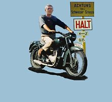 STEVE MCQUEEN GREAT ESCAPE HALT Unisex T-Shirt