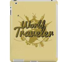 World Traveler iPad Case/Skin