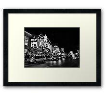 BW45 Framed Print