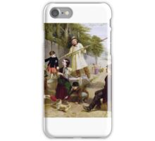 William Henry Knight - Rivals to Blondin  iPhone Case/Skin
