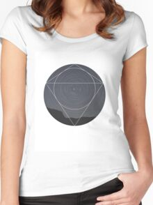 Spinning Universe Women's Fitted Scoop T-Shirt