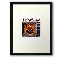 BLACK $AND CLAN - BURN THA WORLD 95' Framed Print