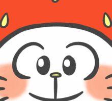 strawbebby kitten Sticker
