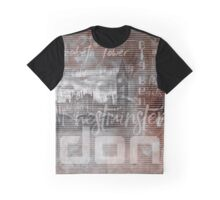 Urban-Art LONDON Houses of Parliament & Red Buses IV Graphic T-Shirt