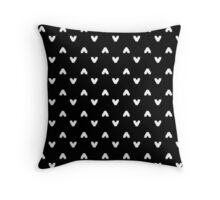 Arrows in Black Throw Pillow